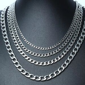 """Other - 🔱23"""" Stainless🔱Steel Silver Plated Cuban Chain"""